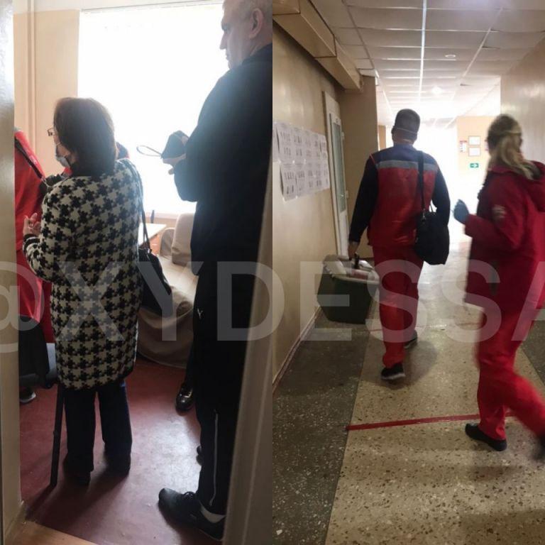 В Одесской области членам избирательных участков пришлось вызвать скорую (фото, видео)