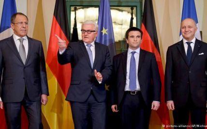 """У Берліні розпочалася зустріч глав МЗС у """"нормандському форматі"""""""