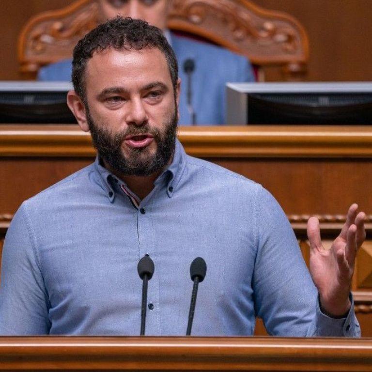 "Дубинского исключили из партии ""Слуга народа"""