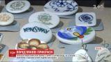 Уникальные украшения из битых тарелок создает польский мастер