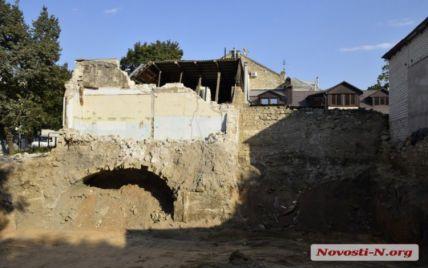 В Николаеве во время строительства нашли старинный артефакт (фото)