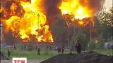 Пожар на нефтебазе унес несколько человеческих жизней