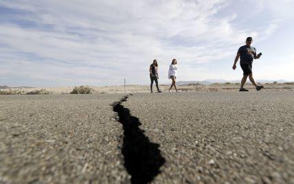 На кордоні між американськими штатами Каліфорнія та Невада стався потужний землетрус