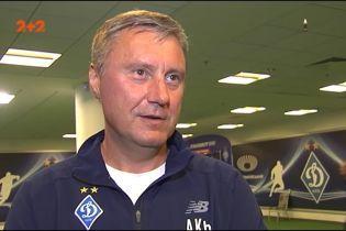 Хацкевич: Ми кожну гру маємо в першому таймі завершувати