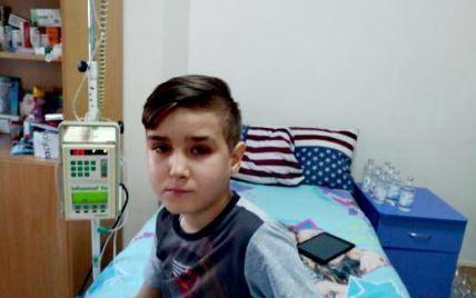 За 7 лет рак крови снова вернулся к Дениске