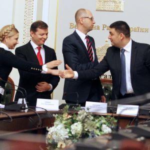 Зеленський прокоментував, чи покличе до своєї командиГройсмана, Яценюка та Тимошенко