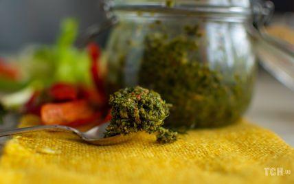 Зелена аджика: рецепт оригінального соусу