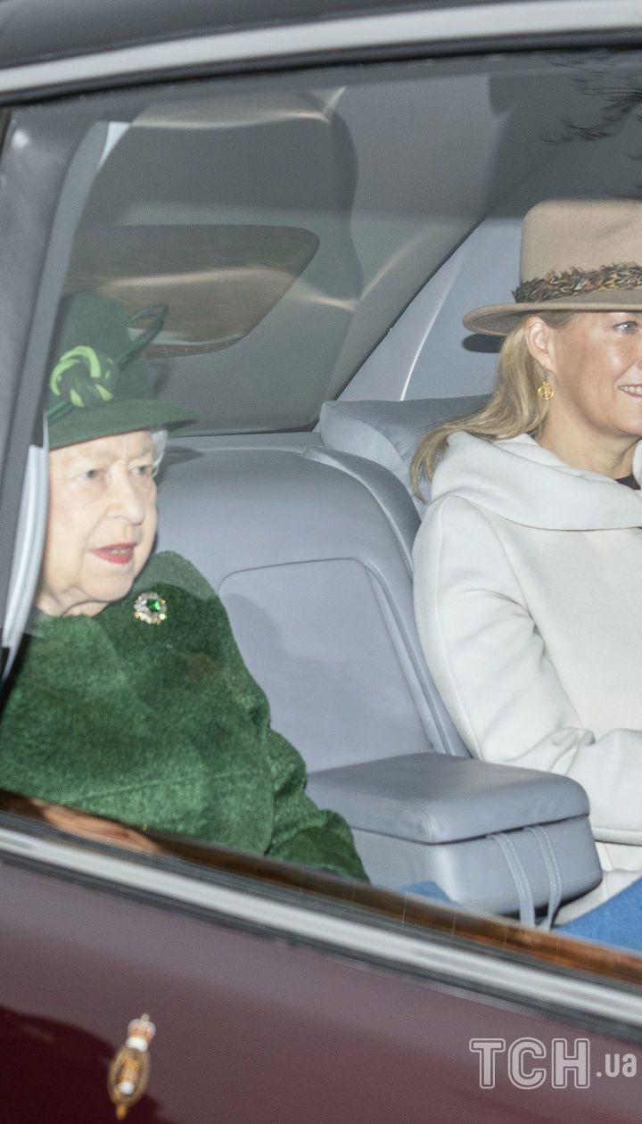 Графиня Софі і королева Єлизавета II / © Associated Press