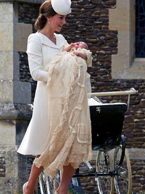 Герцогиня Кэтрин и принцесса Шарлотта / © Getty Images