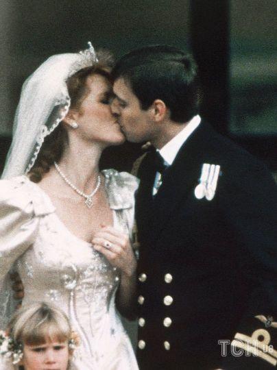 Сара Йоркская и принц Эндрю / © Associated Press