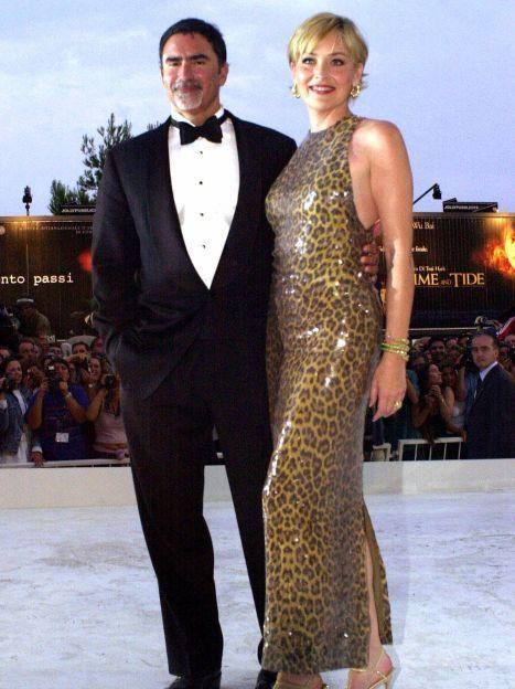 Шерон Стоун і Філ Бронштейн / © Associated Press