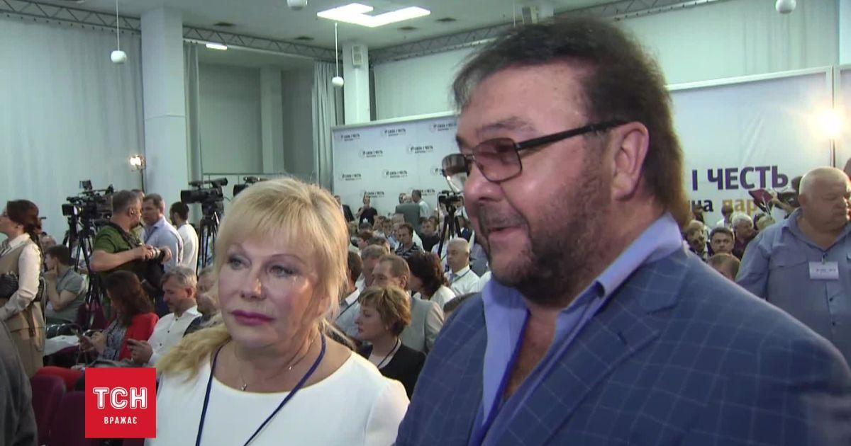 Виталий и Светлана Билоножко идут в политику - избираться будут по спискам Смешко