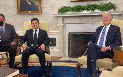 В Вашингтоне начались переговоры Байдена и Зеленского: первые заявления лидеров