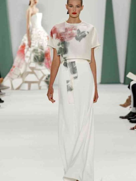 КоллекцияCarolina Herrera прет-а-порте сезона весна-лето 2015 / © East News