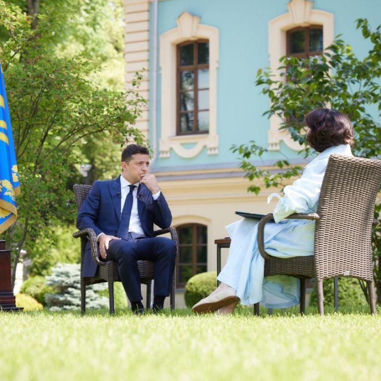 """""""Говорю то, что думаю"""": Зеленский объяснил, почему сменил риторику в отношениях с ЕС и США"""