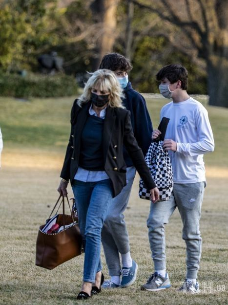 Джилл Байден с семьей / © Getty Images