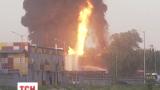 Три версии причины пожара на нефтебазе под Киевом рассматривают милиционеры