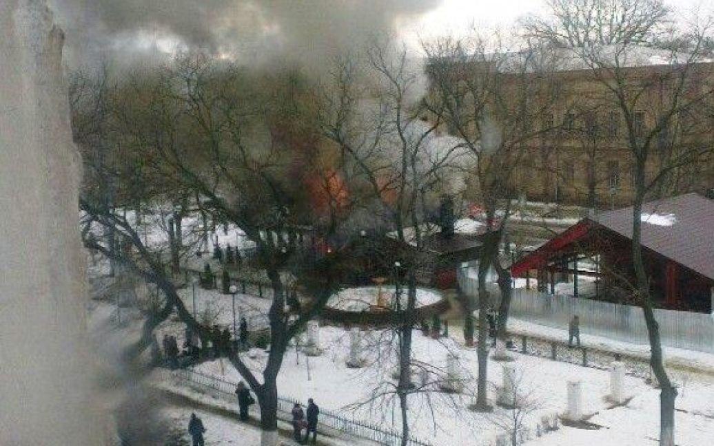 В Ізмаїлі вибухнув бар / © cn24.tv