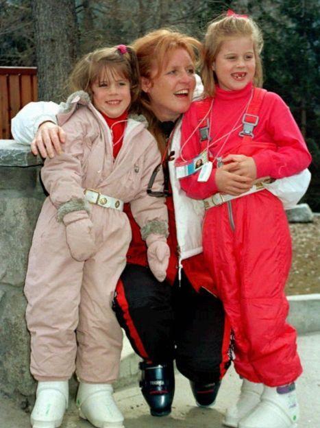 Сара Йоркська з дочками, 1996 год / © Associated Press