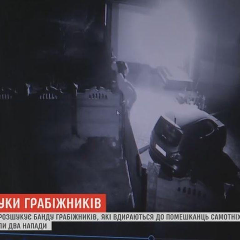 Банду грабителей, которые нападают на жилища одиноких женщин, разыскивают на Житомирщине