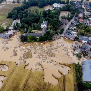 Мощное наводнение в Европе: между Германией и Чехией прекратили железнодорожное сообщение
