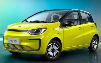 Volkswagen и JAC начали продажу электромобиля за 6 тысяч долларов