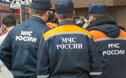 В России из-за непогоды упал железнодорожный мост