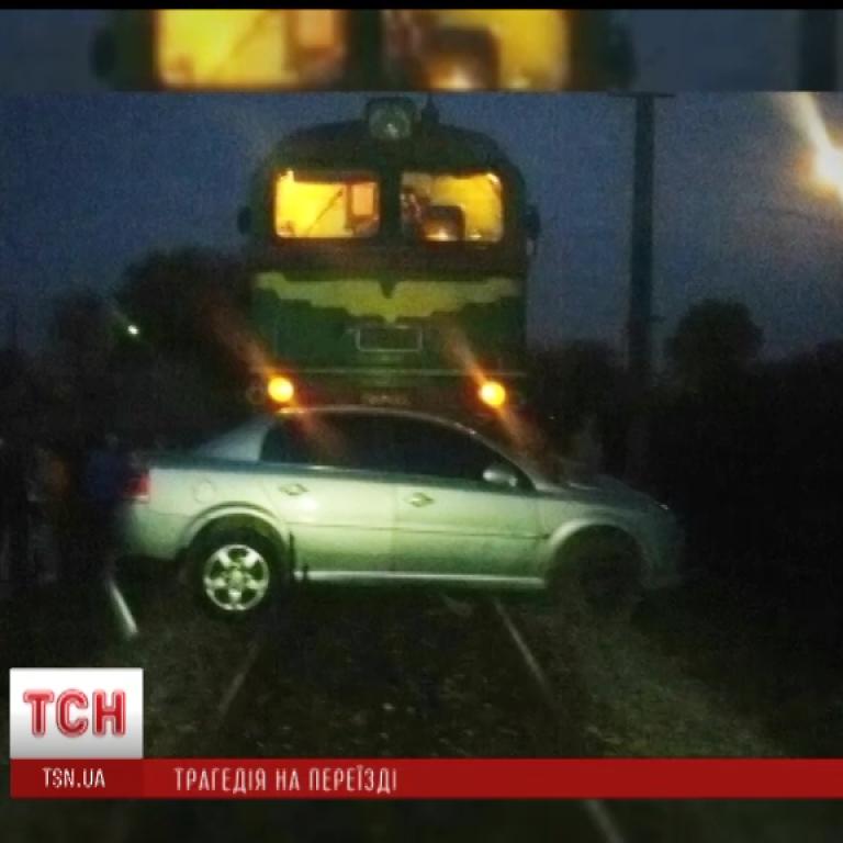 В ДТП на железнодорожном переезде погиб прокурор и пострадал 7-месячный ребенок