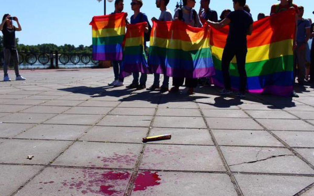 """В Киеве проходит """"Марш равенства"""" / © Mikhail Golub / Twitter"""
