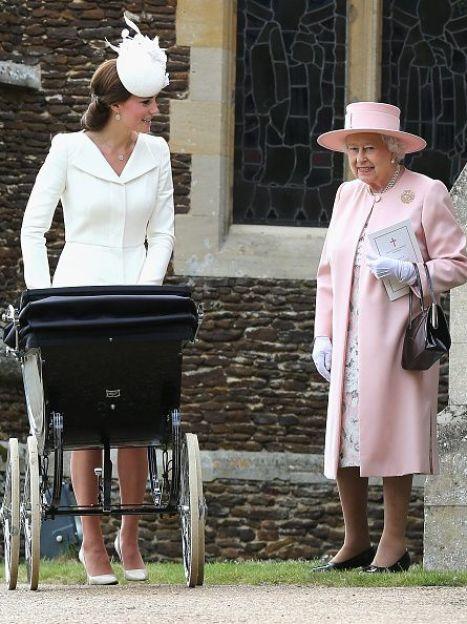 Герцогиня Кэтрин и королева Елизавета II / © Getty Images