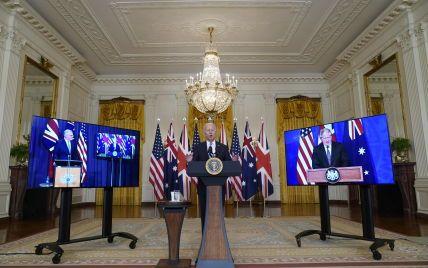 Велика Британія, США і Австралія створили оборонний альянс: будуватимуть атомні підводні човни
