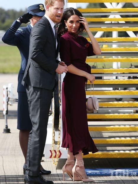 Герцогиня Меган во время первой беременности сыном Арчи / © Getty Images