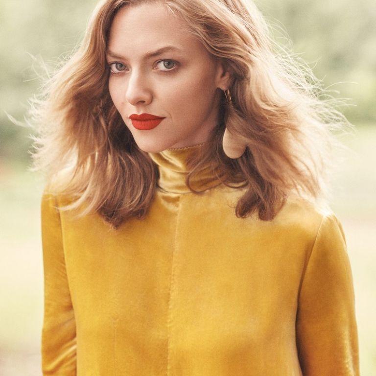 Аманда Сейфрид снялась в красивой осенней фотосессии