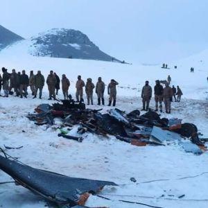 В Турции разбился военный вертолет: погибли 11 человек