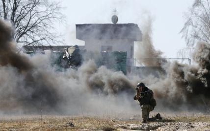 Мощное наступление боевиков в районе Марьинки и бой у Веселой Долины. Карта АТО