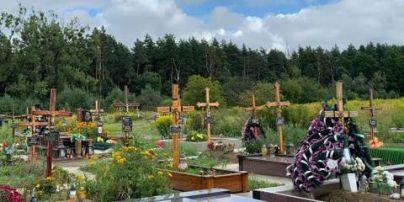 Під Львовом чоловік облаштував нелегальне приватне кладовище: поліція відкрила провадження