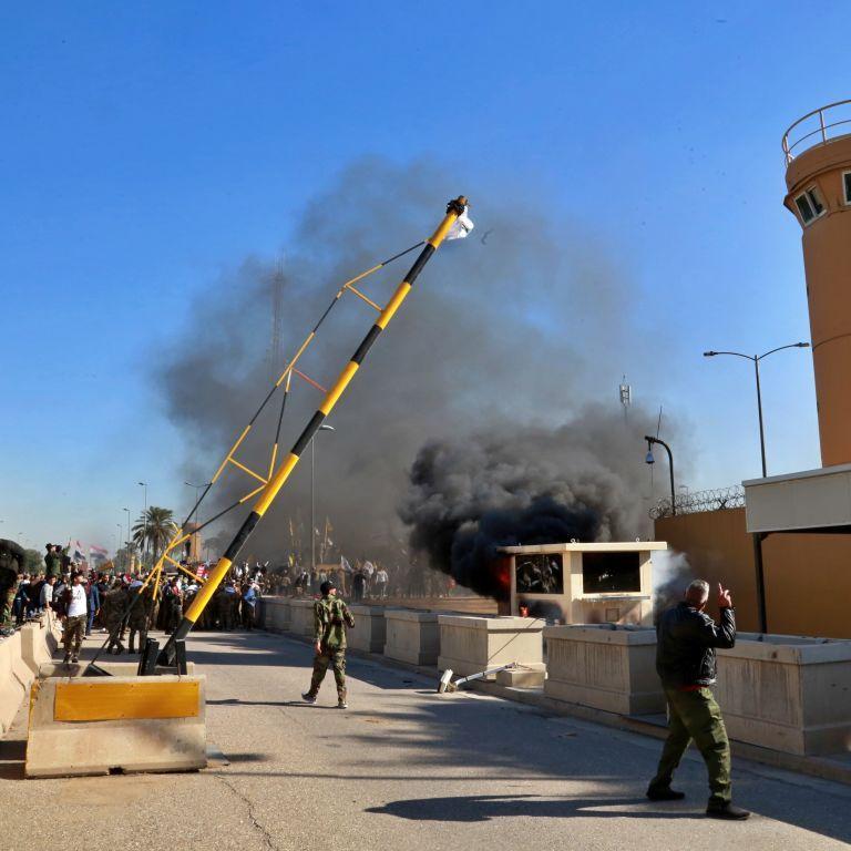 """Возле посольства США в Багдаде упали три ракеты """"Катюша"""" - СМИ"""