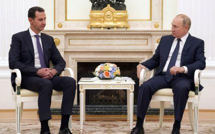 До Кремля на зустріч з Путіним приїхав президент Сирії Асад