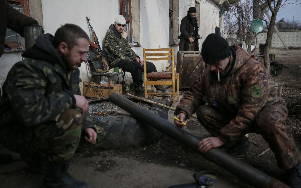Силы АТО под Дебальцево / © Reuters