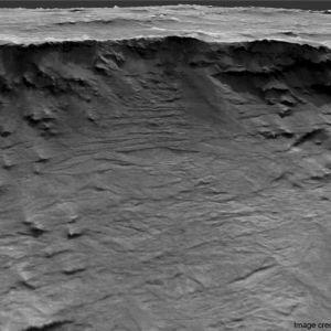NASA показали детальне зображення слідів древніх річок на Марсі