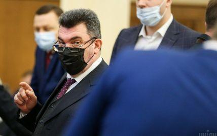 Данілов пояснив, чому Кличка викликали на засідання РНБО