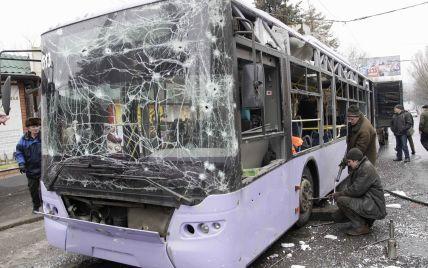 В ОБСЄ визначили, звідки стріляли по тролейбусу в Донецьку