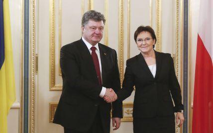 Польща надасть Україні 100 млн євро і обіцяє поглиблення співпраці