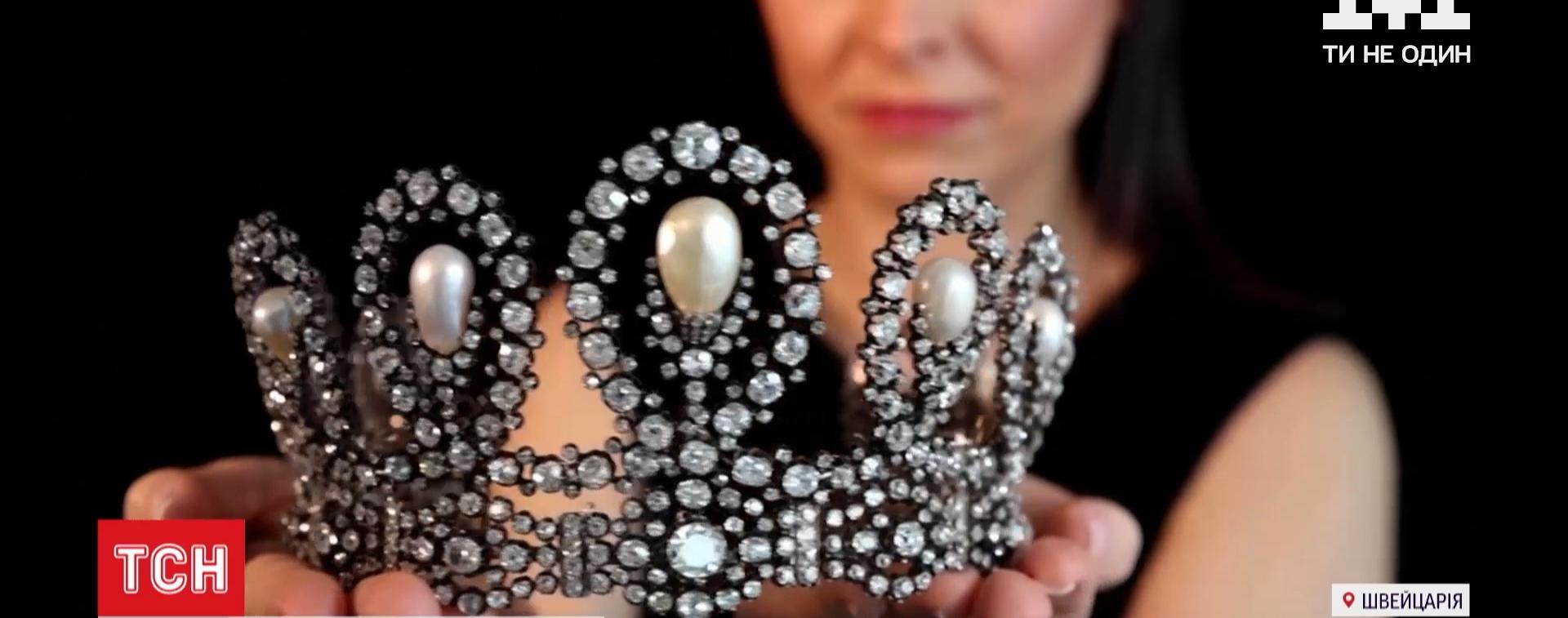 Королівську весільну тіару та рідкісні прикраси з сапфірами продадуть на аукціоні в Женеві