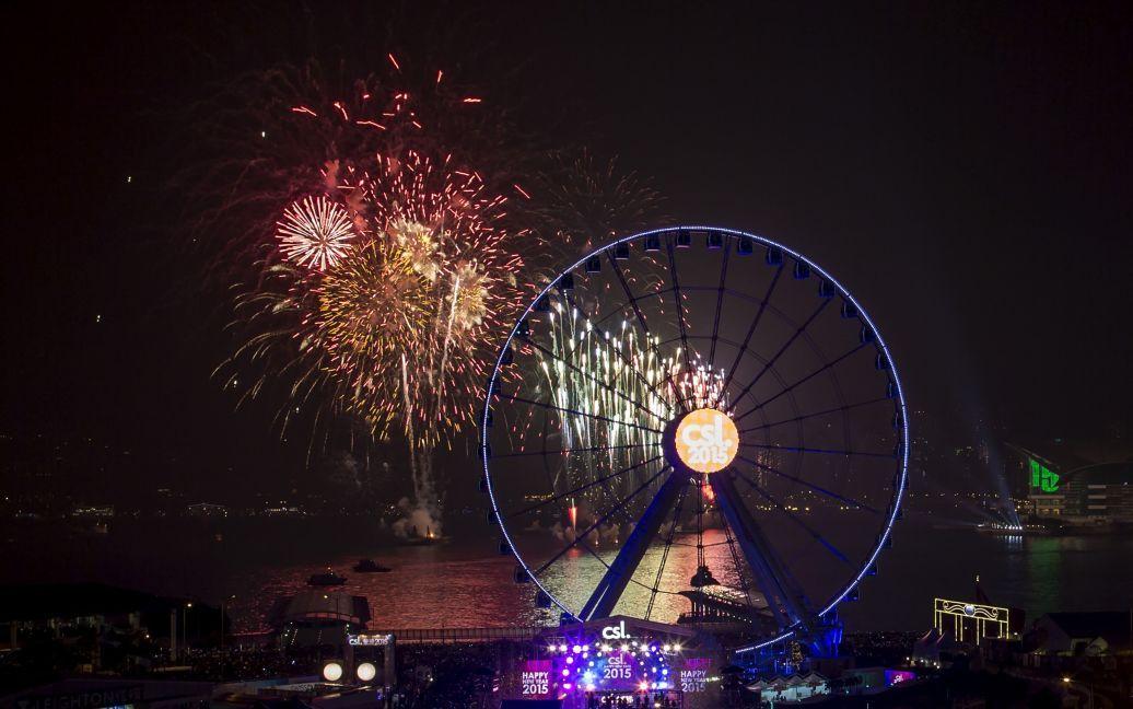 Святкування Нового року в Гонконгу, Китай. / © Reuters