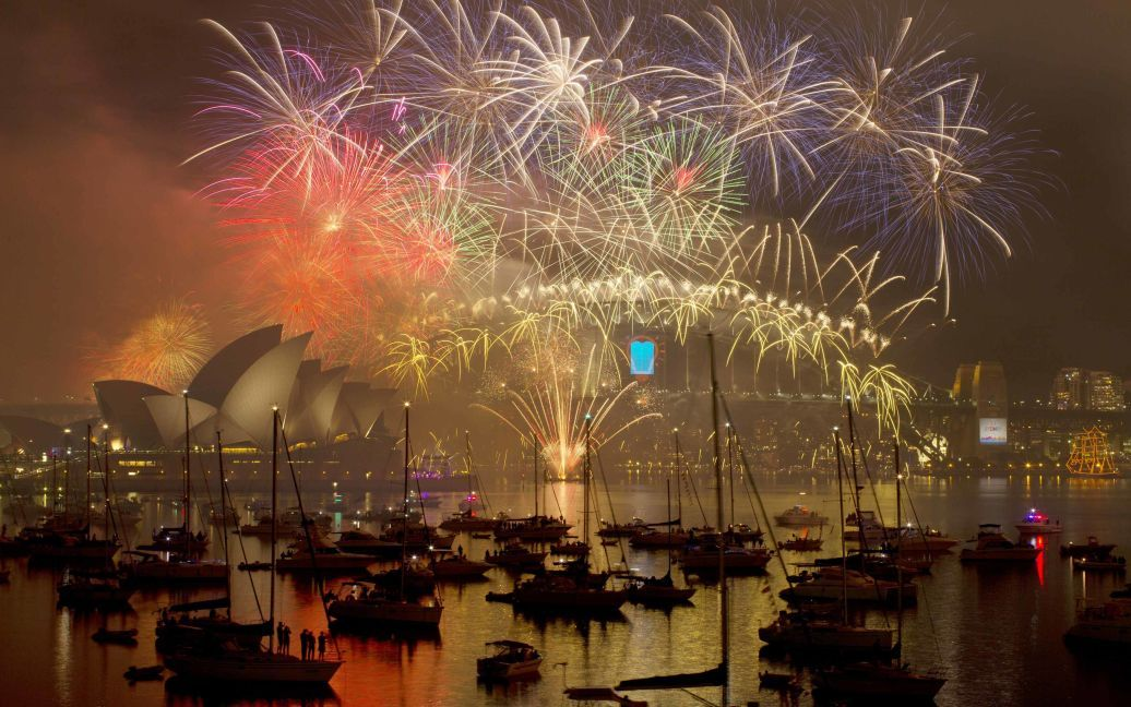 Святкування Нового року у Сіднеї, Австралія. / © Reuters