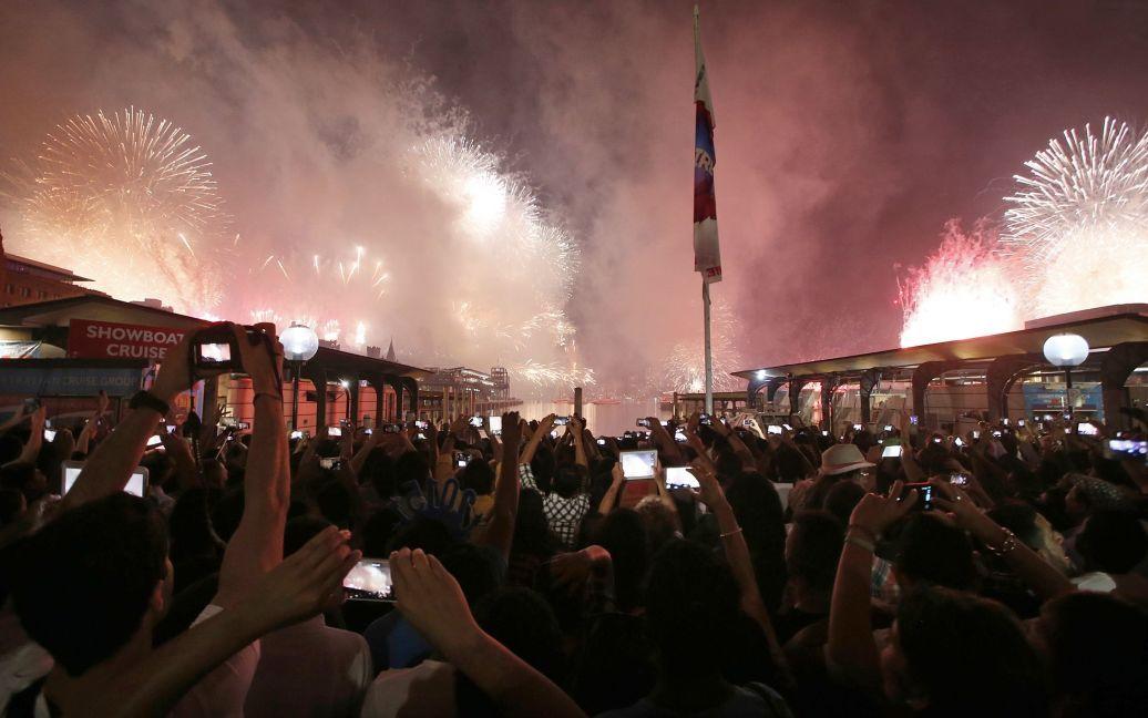Святкування Нового року в Австралії. / © Reuters