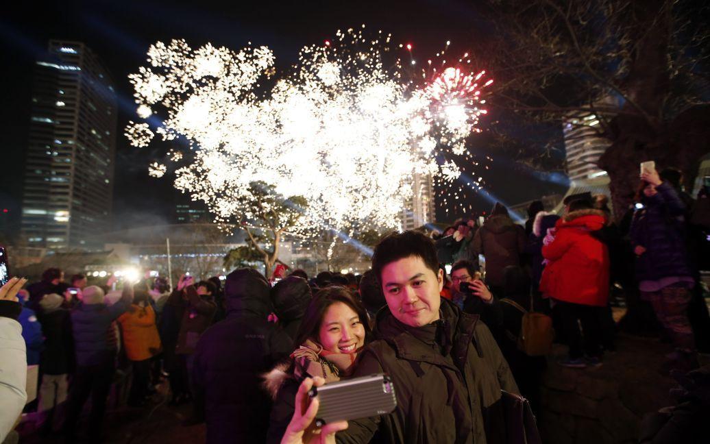 Святкування Нового року в Сеулі, Південна Корея. / © Reuters