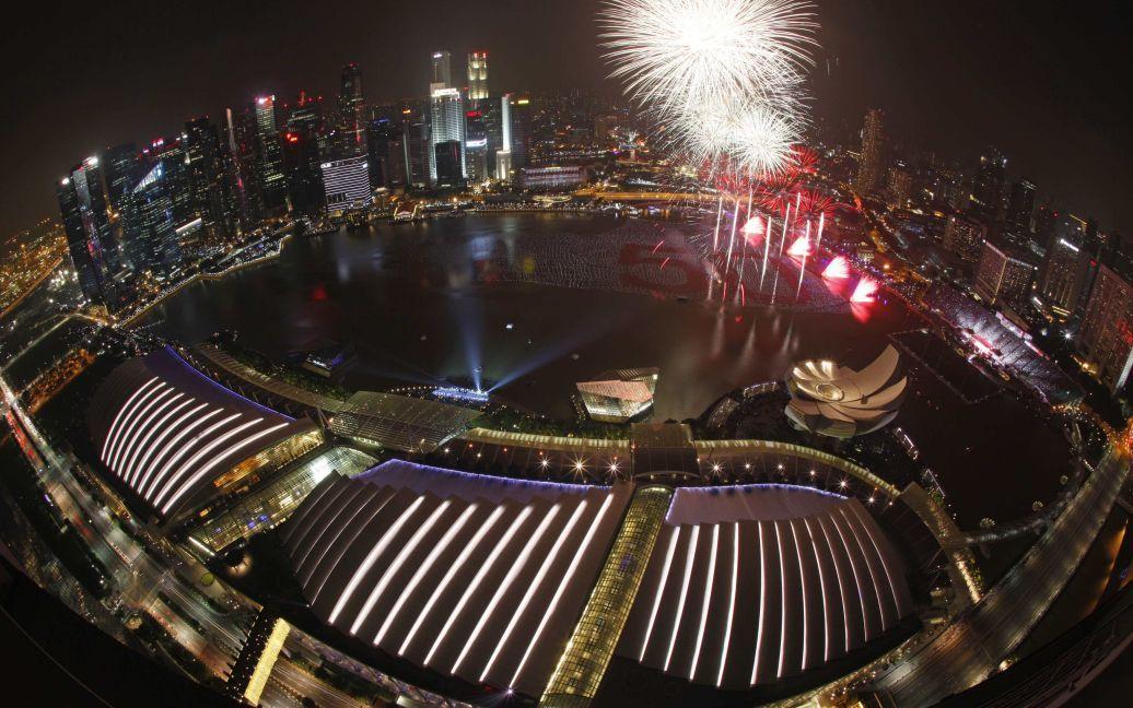 Святкування Нового року в Сінгапурі. / © Reuters