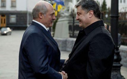 Лукашенко із Порошенком обговорювали закриття кордону з Росією